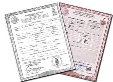Traducción Jurada de un Certificado de Nacimiento
