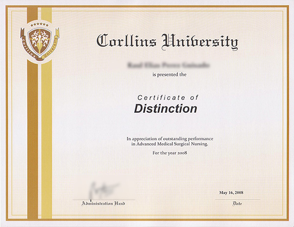 Sworn Translation of a Degree or a Diploma