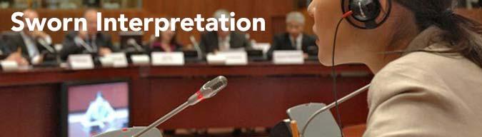 Sworn Interpretation